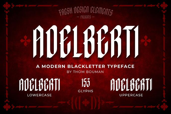 Adelberti-Blackletter